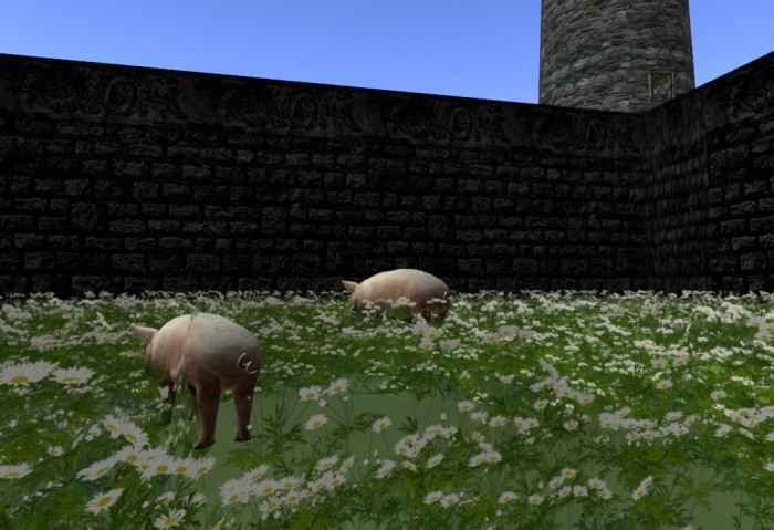Second Life animals