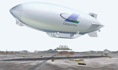 Enviromentally Conscious Airfreight alternative: The Blimp