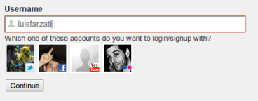 Profile choices returned by Smart Identity widget