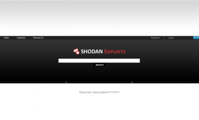 SHODAN specialized search