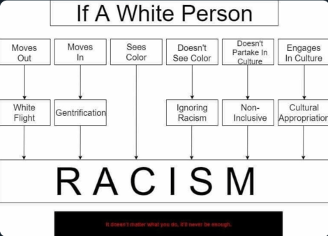 flow chart about race